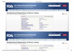 FDA registration regenera 1